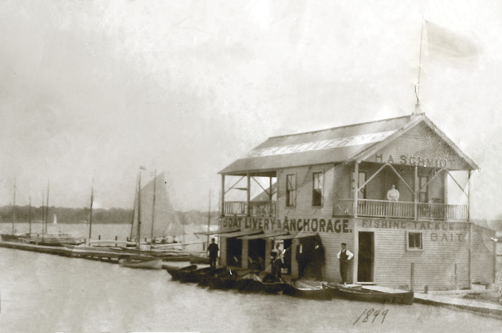 boat livery and anchorage 1899