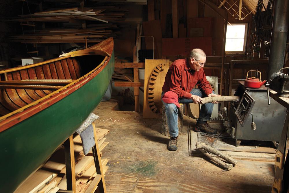 canoe building studio