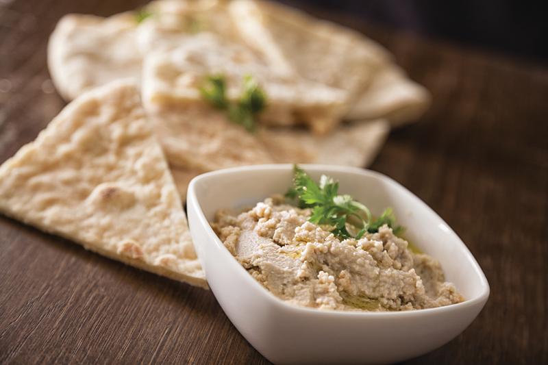 chestnut hummus courtesy chestnut growers inc