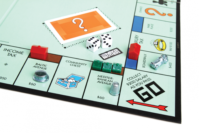iStock photo of Monopoly game