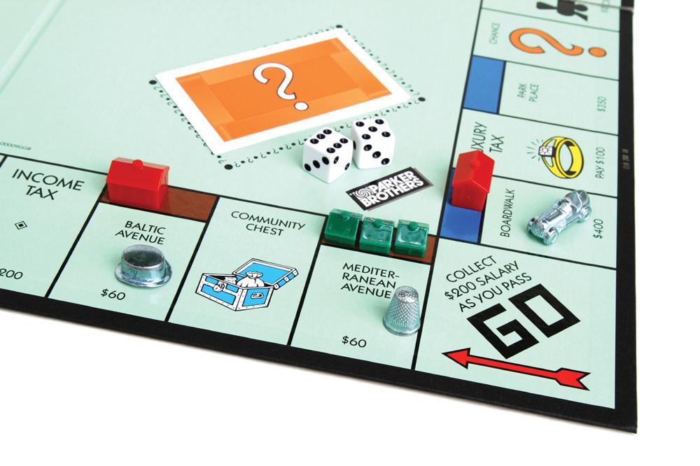 iStock photo of Monopoly game