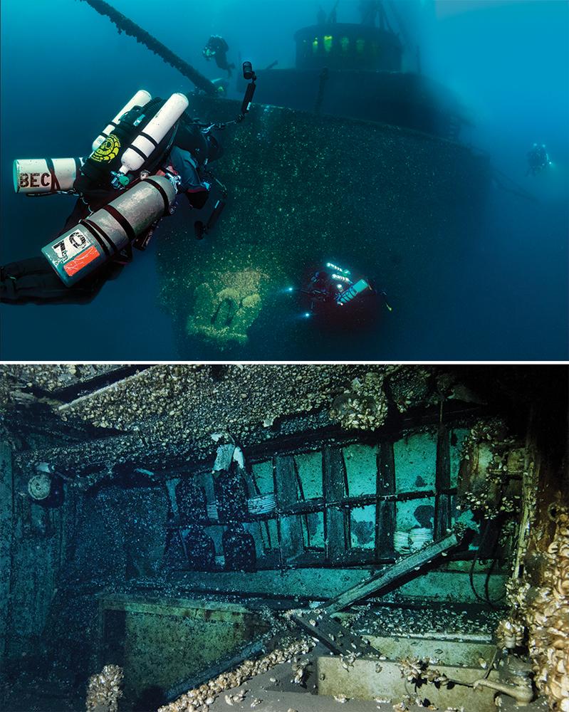 Daniel J. Morrell shipwreck