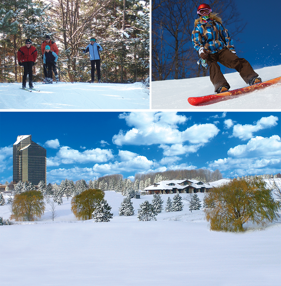 Cross-Country Ski Headquarters and Grand Traverse Resort