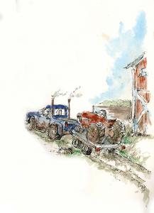 Tracker illustration by G. Odmark