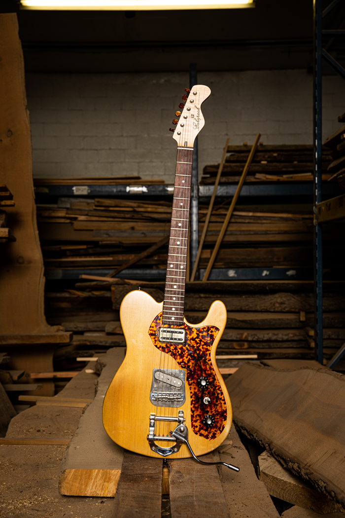 echo park guitars pine