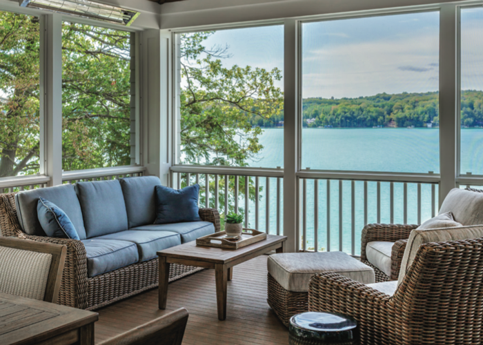 Great Lake Story 2019 Screened Porch