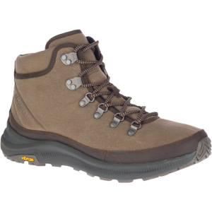 Inspired by our friends at Stormy Kromer®, this hiking boot features the same soft oiled waxed cotton and flannel used to make the iconic Kromer hats.