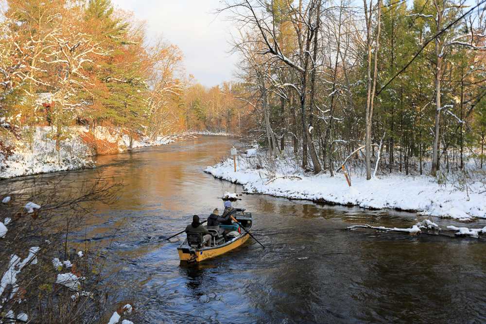 The Pere Marquette River is beautiful.