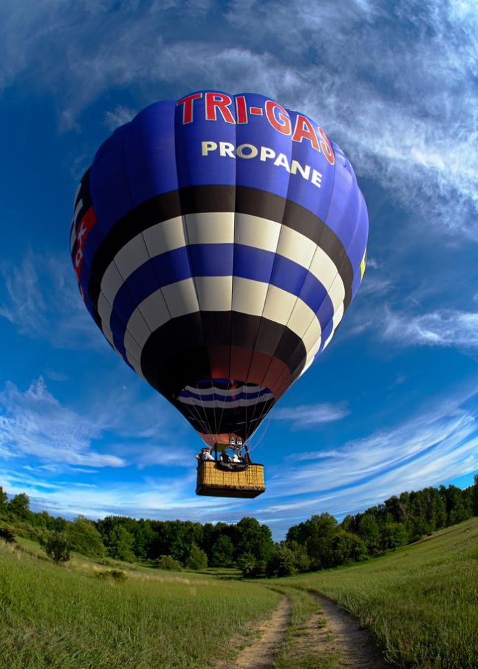 Tri-Gas Propane Hot Air Balloon
