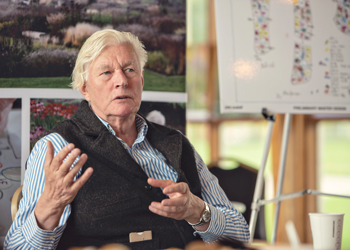 The Plan For New Gardens Designed By Piet Oudolf